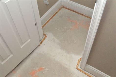 Bathroom Tile To Carpet Transition