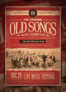"""""""The Original Old Songs Blues Experience"""" – This flyer was ..."""