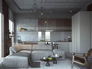 3, Open, Studio, Apartment, Designs