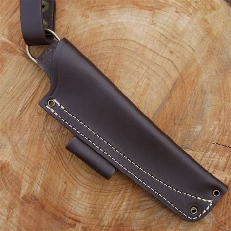 tbs leather nordic dangler type knife sheath with