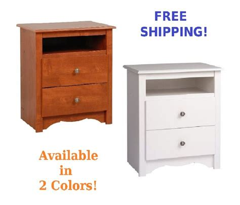 tall bedroom end tables wood night stand tall nightstand side end table 2 drawer