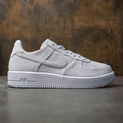 nike men air force  ultra force pure platinum pure