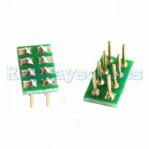 Male Nmra Plug For Nem652 8 Pin Female Socket  Railwayscenics