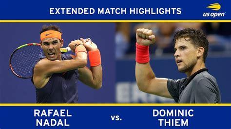 Rafael Nadal vs Dominic Thiem | US Open 2018 Quarter-Final ...