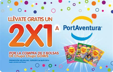 code promo port aventura entrada gratis a port aventura con chupa chups