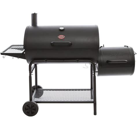 home depot pits char griller smokin ch charcoal grill horizontal