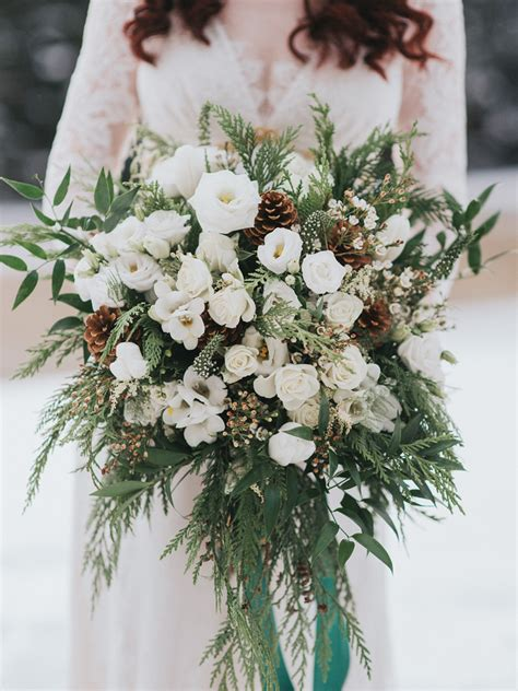 Winter Wedding Bouquets Youll Love
