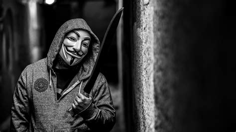 wallpaper hd   walpaper hacker anonymous hitam