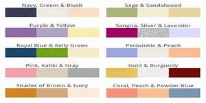 comment marier les couleurs With mariage de couleur avec le gris 0 comment choisir les couleurs de son mariage