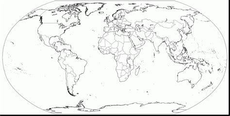world map  countries coloring pages  open