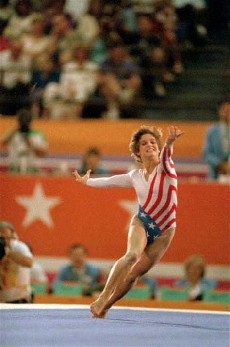 Lou Retton Olympic Floor Routine by 1000 Ideas About 1984 Summer Olympics On When