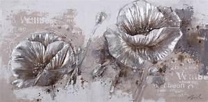 Toile Blanche A Peindre : peinture en 3d sur toile recherche google grosse fleur ~ Premium-room.com Idées de Décoration