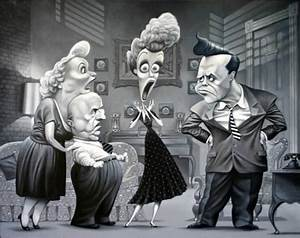 I Love Lucy..FOLLOW THIS BOARD FOR GREAT CARICATURES OR ...