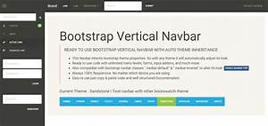 Auto inherit bootstrap theme vertical sidebar by webonick for Html side menu bar template