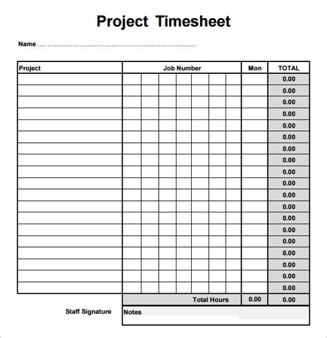 sample project timesheets  google docs google