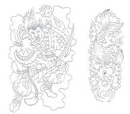Tattoo Flash Outline Designs