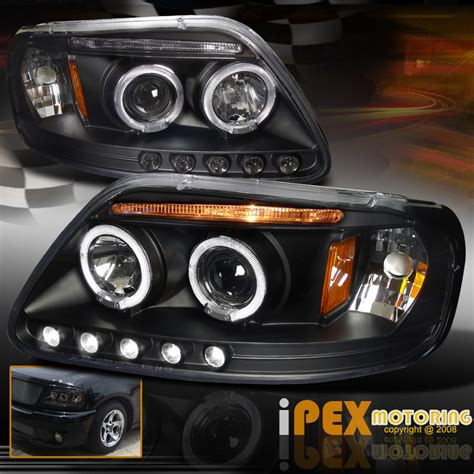 f150 halo lights 1997 2003 ford f150 97 02 expedition dual halo projector