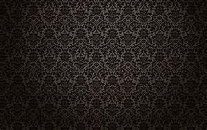 Black Damask 910957 - WallDevil