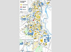 UGA Physics and Astronomy • Campus Map