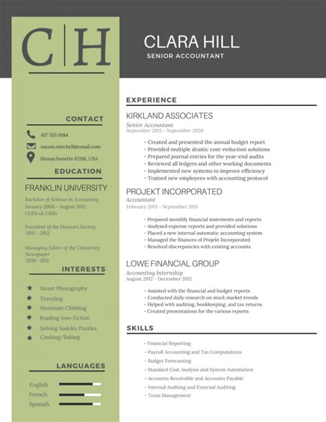 graphic resume templates 50 most professional editable resume templates for jobseekers