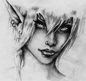 Dark Elf Drawings