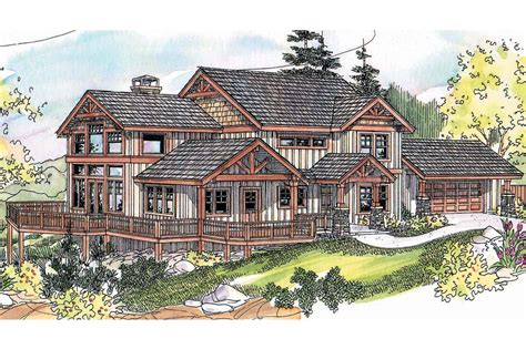 House Plans Steep Slope