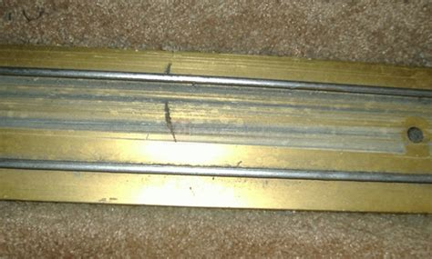 mirred closet door track swisco