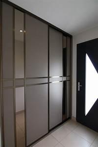 Porte Placard Coulissante Pas Cher : porte de placard coulissante sur mesure pas cher wasuk ~ Premium-room.com Idées de Décoration