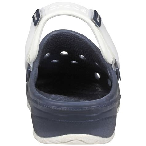 Ace Boating Crocs Navy White by Crocs Men S Ace Boating Clogs West Marine