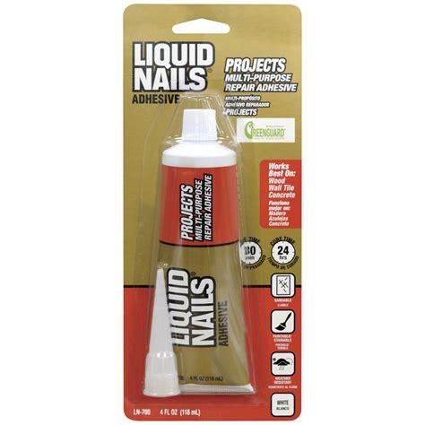 liquid nails liquid nails clear seal all purpose sealant nail ftempo