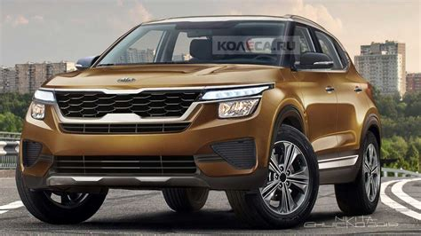 kia small crossover rendered    reveal