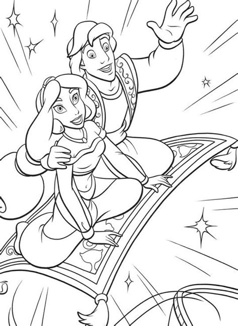 aladdin coloring pages  coloring pages