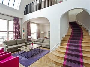 decoration baroque ouest home salon contemporain avec With tapis d escalier contemporain