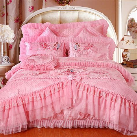 wedding comforter sets 4pc 5pc 6pc 8pc 9pc available traditional wedding bedding set luxury lace edge bedspread