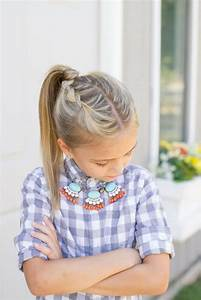 Coiffure Facile Pour Petite Fille : les coiffures pour enfants tendance en 57 photos ~ Nature-et-papiers.com Idées de Décoration