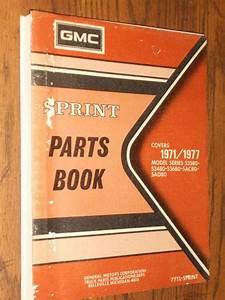 Buy 1971  Gmc Sprint Parts Book    Original Parts
