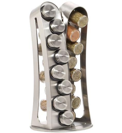 Pre Filled Spice Rack by Kamenstein Spice Rack Stainless Steel In Spice Racks