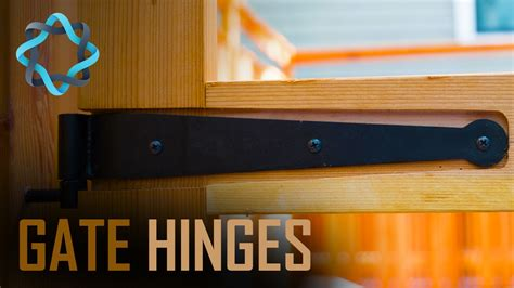 gate hinges complete video guide youtube