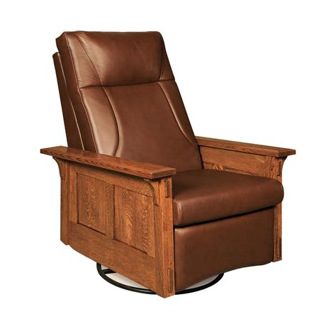swivel rocker recliner mccoy rocker recliner swivel from dutchcrafters amish