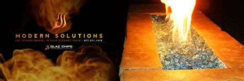 Fireplaces With Glass Rocks Chips Fire Glass The Alternative Product For Fireplaces Fire Pits