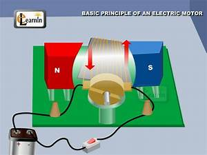 Physics - Principle of an Electric Motor - Physics - YouTube
