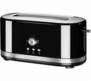 Kitchen Aid Toaster : buy kitchenaid 5kmt4116bob 2 slice toaster onyx black free delivery currys ~ Yasmunasinghe.com Haus und Dekorationen