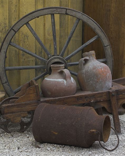 Rustic Outdoor Decoration New Country Primitive