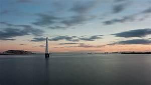 Blue Mini Lights 4k Nature Wallpaper With Princes Pier Port Lighthouse Hd