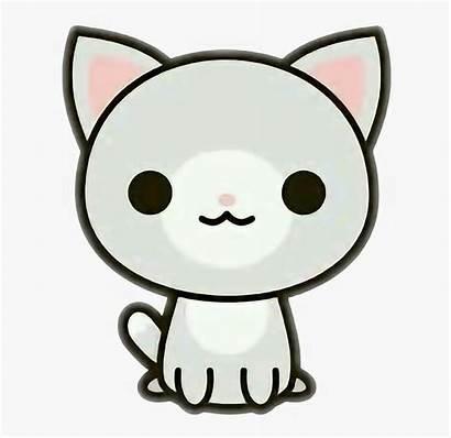 Kawaii Cat Clipart Clip Neko Wtf Cartoon