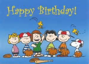 Happy Birthday Charlie Brown Snoopy