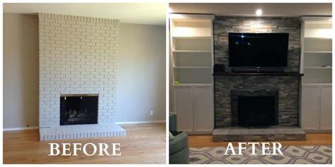 update  living room   fireplace makeover