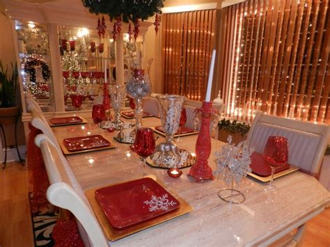 Pin By F F On Holidays Decor Ideas by Dining Room Table 2013 Decorating Ideas