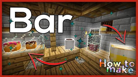 How To Make A Bar by Minecraft How To Build And Decorate A Bar