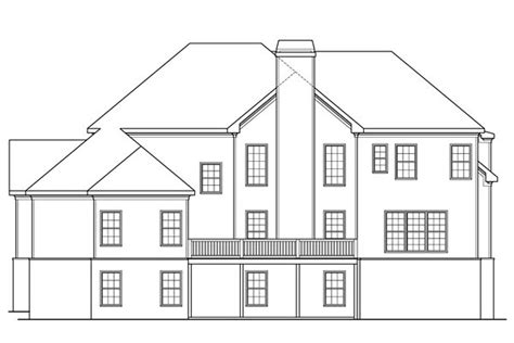 House Plan 72683 Southern Style with 4226 Sq Ft 4 Bed